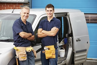 repair men by van